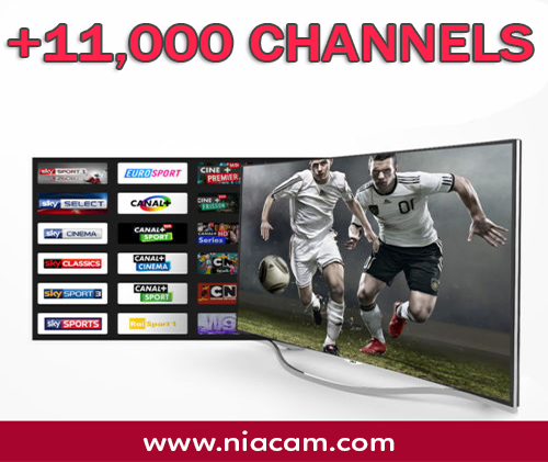 IPTV (11,000 CH)