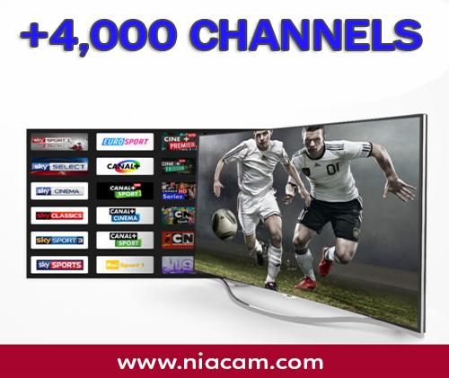 IPTV (4000 CH)