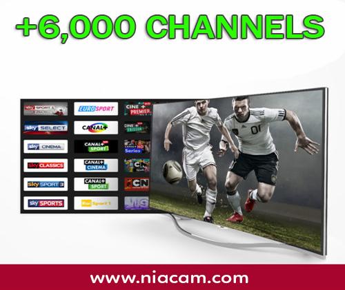 IPTV (6000 CH)