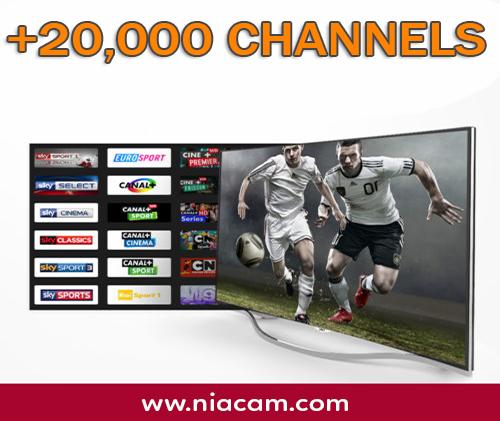 IPTV (20,000 CH)
