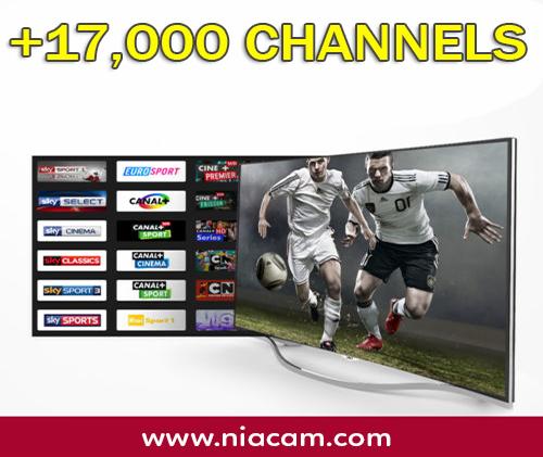 IPTV (17,000 CH)