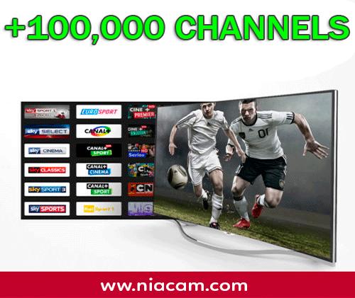 IPTV (100,000 CH)